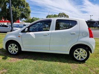 2012 Suzuki Alto GF GLX White 5 Speed Manual Hatchback