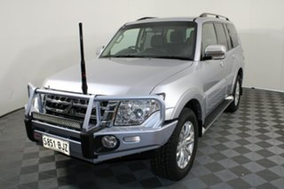 2015 Mitsubishi Pajero NX MY16 GLX Cool Silver 5 Speed Sports Automatic Wagon.
