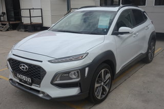 2019 Hyundai Kona OS.2 MY19 Highlander 2WD White 6 Speed Sports Automatic Wagon
