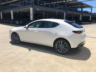 2020 Mazda 3 BP2H7A G20 SKYACTIV-Drive Touring Snowflake White 6 Speed Sports Automatic Hatchback