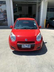 2014 Suzuki Alto GF GL Br Red 4 Speed Automatic Hatchback.