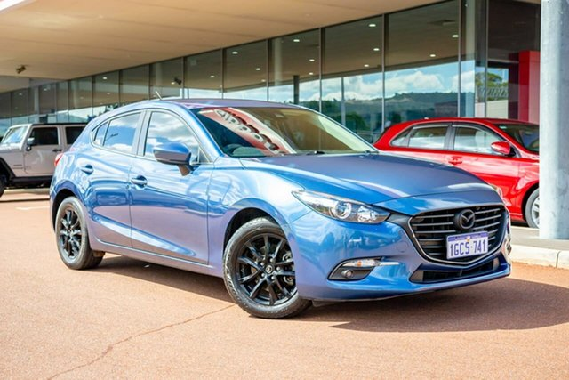 Used Mazda 3 BN5478 Touring SKYACTIV-Drive Gosnells, 2016 Mazda 3 BN5478 Touring SKYACTIV-Drive Blue 6 Speed Sports Automatic Hatchback