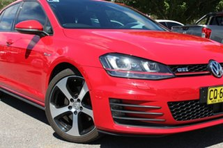 2016 Volkswagen Golf VII MY16 GTi Tornado Red 6 Speed Manual Hatchback.