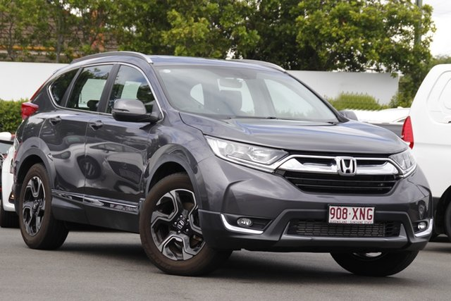 Used Honda CR-V RW MY18 VTi-L FWD Mount Gravatt, 2017 Honda CR-V RW MY18 VTi-L FWD Grey 1 Speed Constant Variable Wagon