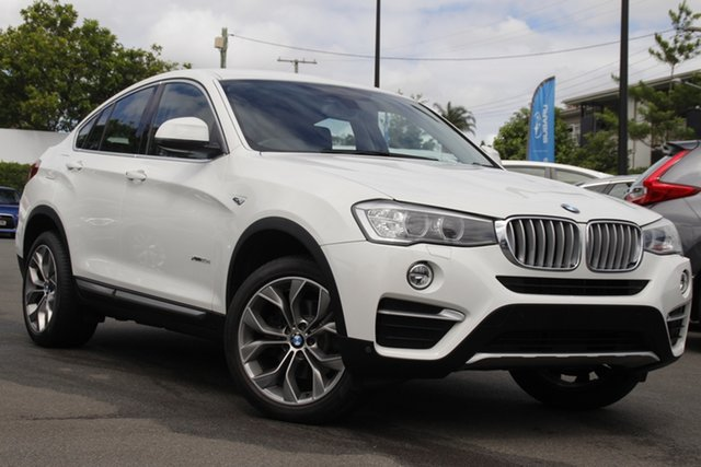 Used BMW X4 F26 xDrive20d Coupe Steptronic Mount Gravatt, 2016 BMW X4 F26 xDrive20d Coupe Steptronic White 8 Speed Automatic Wagon
