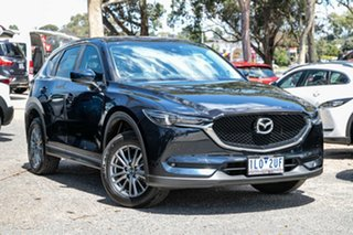 2017 Mazda CX-5 KF4WLA Touring SKYACTIV-Drive i-ACTIV AWD Blue 6 Speed Sports Automatic Wagon.