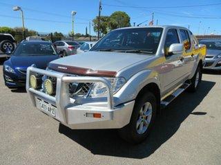 2012 Nissan Navara D40 MY12 ST (4x4) Silver 6 Speed Manual Dual Cab Pick-up.