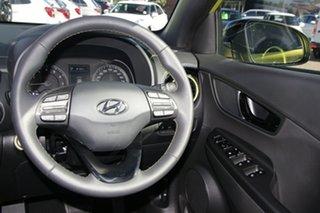 2020 Hyundai Kona OS.3 MY20 Highlander TTR YEL (FWD) Acid Yellow 6 Speed Automatic Wagon