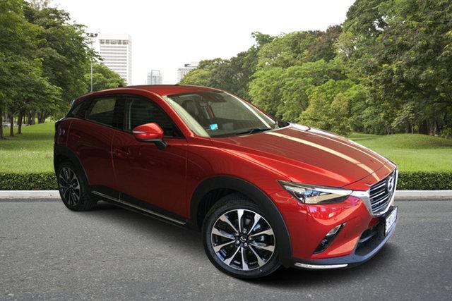 Demo Mazda CX-3 DK4W7A sTouring SKYACTIV-Drive i-ACTIV AWD Paradise, 2020 Mazda CX-3 DK4W7A sTouring SKYACTIV-Drive i-ACTIV AWD Soul Red 6 Speed Sports Automatic Wagon