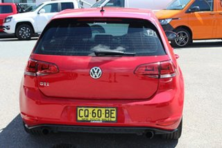 2016 Volkswagen Golf VII MY16 GTi Tornado Red 6 Speed Manual Hatchback