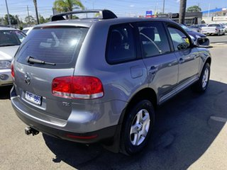 2006 Volkswagen Touareg 7L MY05 R5 TDI 4XMOTION Silver 6 Speed Sports Automatic Wagon