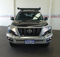 2016 Toyota Landcruiser Prado GDJ150R MY16 GXL (4x4) Ebony 6 Speed Automatic Wagon.