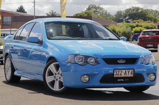 2005 Ford Falcon BA Mk II XR8 Blue 4 Speed Sports Automatic Sedan.