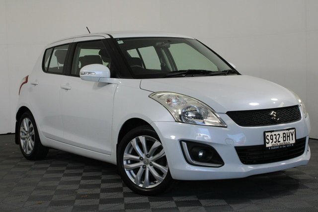 Used Suzuki Swift FZ MY15 GL Navigator Wayville, 2015 Suzuki Swift FZ MY15 GL Navigator White 5 Speed Manual Hatchback