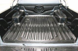 2015 Toyota Hilux KUN26R MY14 SR5 (4x4) Silver 5 Speed Manual Dual Cab Pick-up