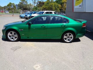 2010 Holden Commodore VE MY10 SV6 Green 6 Speed Sports Automatic Sedan