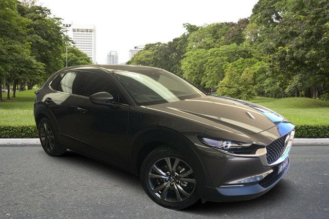Demo Mazda CX-30 DM4WLA X20 SKYACTIV-Drive i-ACTIV AWD Astina Paradise, 2020 Mazda CX-30 DM4WLA X20 SKYACTIV-Drive i-ACTIV AWD Astina Machine Grey 6 Speed Sports Automatic