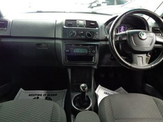 2011 Skoda Fabia 5JF 77TSI Silver 5 Speed Manual Hatchback