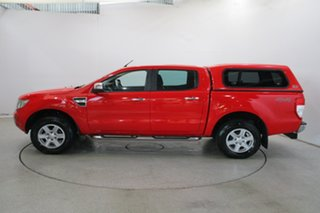 2013 Ford Ranger PX XLT Double Cab True Red 6 Speed Sports Automatic Utility
