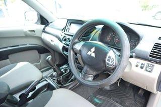 2010 Mitsubishi Triton MN MY10 GL-R Double Cab Silver 5 Speed Manual Utility