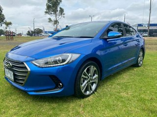 2017 Hyundai Elantra AD MY17 Elite Blue 6 Speed Sports Automatic Sedan