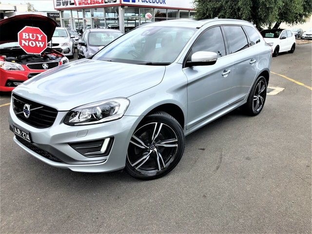 Used Volvo XC60 DZ MY17 T5 Geartronic AWD R-Design Seaford, 2016 Volvo XC60 DZ MY17 T5 Geartronic AWD R-Design Silver 8 Speed Sports Automatic Wagon