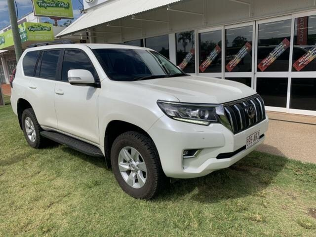 Pre-Owned Toyota Landcruiser Prado GDJ150R MY18 GXL (4x4) Emerald, 2018 Toyota Landcruiser Prado GDJ150R MY18 GXL (4x4) White 6 Speed Automatic Wagon