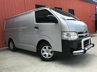 2013 Toyota HiAce KDH201R MY12 LWB Silver 4 Speed Automatic Van.