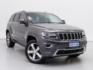 2016 Jeep Grand Cherokee WK MY15 Overland (4x4) Grey 8 Speed Automatic Wagon.