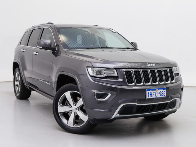 Used Jeep Grand Cherokee WK MY15 Overland (4x4), 2016 Jeep Grand Cherokee WK MY15 Overland (4x4) Grey 8 Speed Automatic Wagon