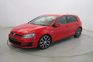 2015 Volkswagen Golf VII MY15 GTI DSG Performance Red 6 Speed Sports Automatic Dual Clutch Hatchback.