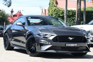 2019 Ford Mustang FN MY20 GT 5.0 V8 Magnetic Grey 10 Speed Automatic Fastback.