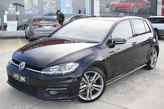 2018 Volkswagen Golf 7.5 MY18 110TSI DSG Highline Black 7 Speed Sports Automatic Dual Clutch.