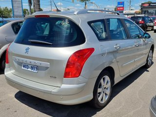 2008 Peugeot 308 T7 XS Touring Silver 4 Speed Sports Automatic Wagon