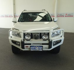 2012 Toyota Landcruiser Prado KDJ150R 11 Upgrade Kakadu (4x4) Crystal Pearl 5 Speed Sequential Auto.