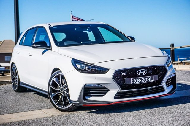 Used Hyundai i30 PDe MY18 N Performance Christies Beach, 2018 Hyundai i30 PDe MY18 N Performance White 6 Speed Manual Hatchback
