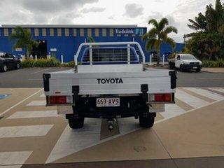 2017 Toyota Hilux GUN126R SR5 Extra Cab Nebula Blue 6 Speed Manual Utility.