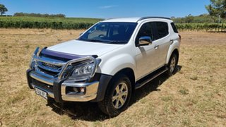 2017 Isuzu MU-X MY16.5 LS-T Rev-Tronic White 6 Speed Sports Automatic Wagon