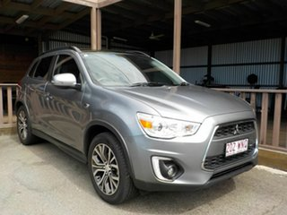 2016 Mitsubishi ASX XB MY15.5 XLS 2WD Grey 6 Speed Constant Variable Wagon.
