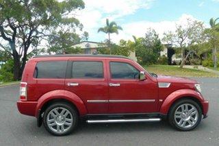 2009 Dodge Nitro KA MY09 SX Red 4 Speed Automatic Wagon.