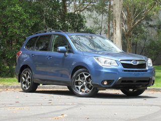 2015 Subaru Forester S4 MY15 2.0D-S CVT AWD Blue 7 Speed Constant Variable Wagon.