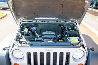 2014 Jeep Wrangler JK MY2014 Unlimited Sport Silver 5 Speed Automatic Softtop