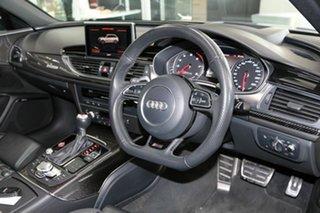 2018 Audi RS6 4G MY18 performance Avant Tiptronic Quattro Silver 8 Speed Sports Automatic Wagon.