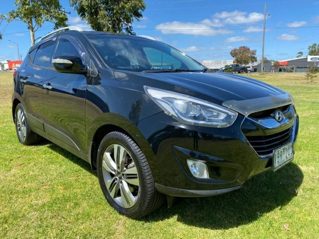 Used Hyundai ix35 LM3 MY14 Highlander AWD Melton, 2014 Hyundai ix35 LM3 MY14 Highlander AWD Phantom Black 6 Speed Sports Automatic Wagon