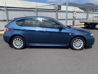 2010 Subaru Impreza G3 MY11 R AWD Blue 4 Speed Sports Automatic Hatchback.