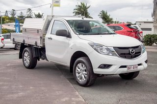 2015 Mazda BT-50 UR0YF1 XT 4x2 Hi-Rider White 6 Speed Manual Cab Chassis