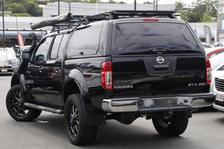 2013 Nissan Navara D40 S5 MY12 ST-X 550 Black 7 Speed Sports Automatic Utility.