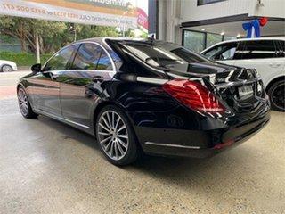 2015 Mercedes-Benz S-Class W222 S350 BlueTEC Obsidian Black Sports Automatic Sedan