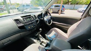 2012 Toyota Hilux KUN16R MY12 SR Xtra Cab 4x2 White 5 Speed Manual Utility