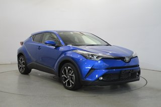2019 Toyota C-HR NGX10R Koba S-CVT 2WD Blue 7 Speed Constant Variable Wagon